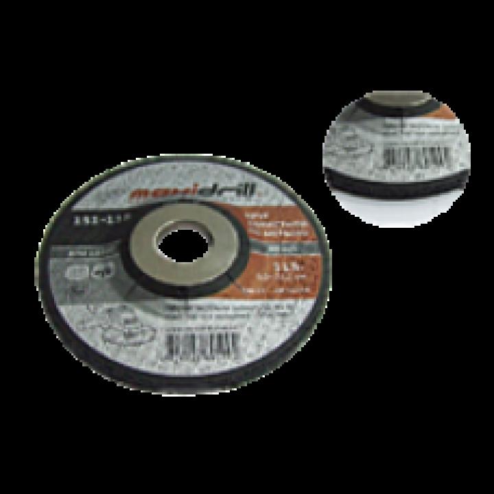 Круг шліфувальний зачистний Maxidrill (125х6.0х22.2)