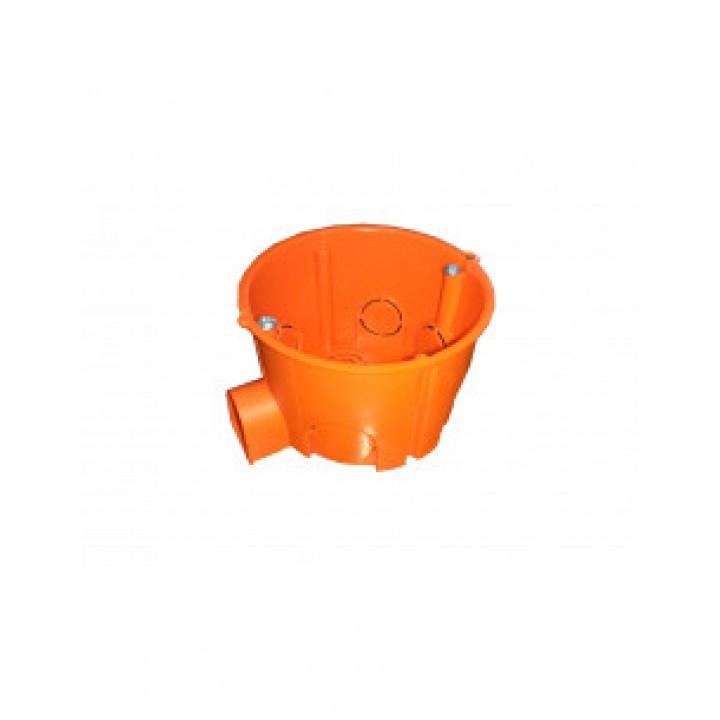 Підрозетник по гіпсокартону помаранчевий Schneider (Євро)