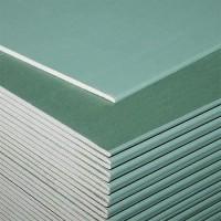 Гіпсокартон стіновий вологостійкий KNAUF (Кнауф) (12.5*1200*2500)