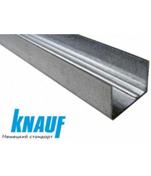 Профіль стельовий направляючий KNAUF UD-27 (0.6мм) 3м
