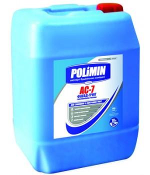 Грунт глибокого проникнення Полімін АС-7 (10л)