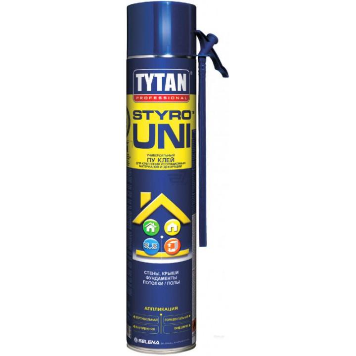 Піна-клей ручна Tytan О2 STYRO Uni (750мл)
