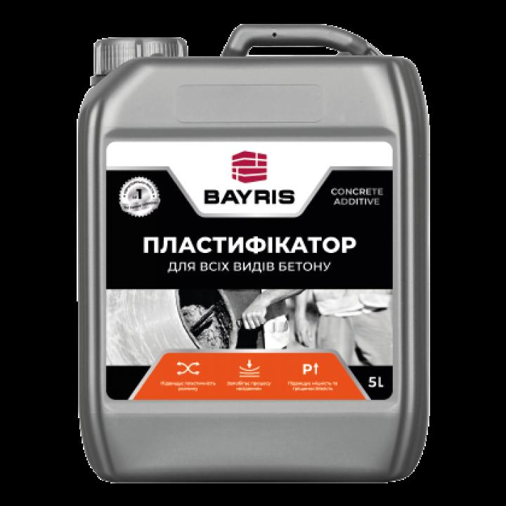 """Пластифікатор """"Для всіх видів бетону"""" Байріс (Bayris) (5л)"""