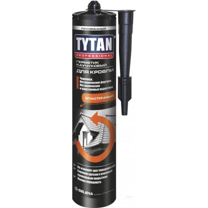 Герметик каучуковий покрівельний Tytan Professional (310мл/чорний)