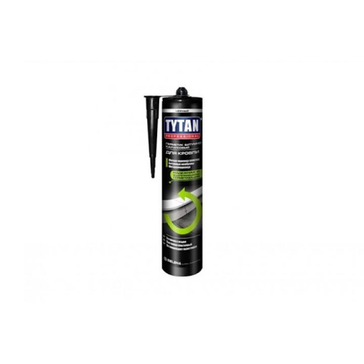Герметик бітумний покрівельний Tytan (310мл/чорний)