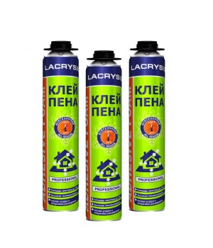 Піна-клей професійна Лакрісіл (Lacrysil) (850мл / 950 гр)