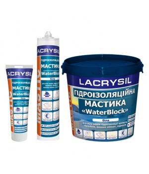 """Мастика гідроізоляційна Лакрісіл (Lacrysil) """"WaterBlock"""" (1.2кг.)"""