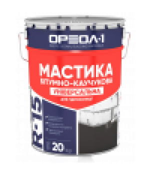 Мастика бітумно-гумова Ореол-1 (3 кг.)