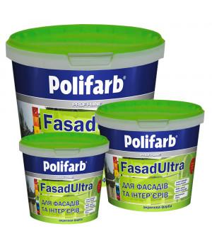 Фарба Polifarb (Поліфарб) ФасадУльтра (14кг)