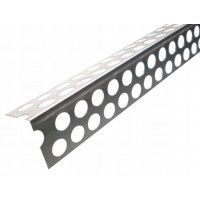 Кут перфорований алюмінієвий DELUX Super (3м)