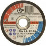 Круг відрізний по металу ЗАК (125х1.2х22.2)