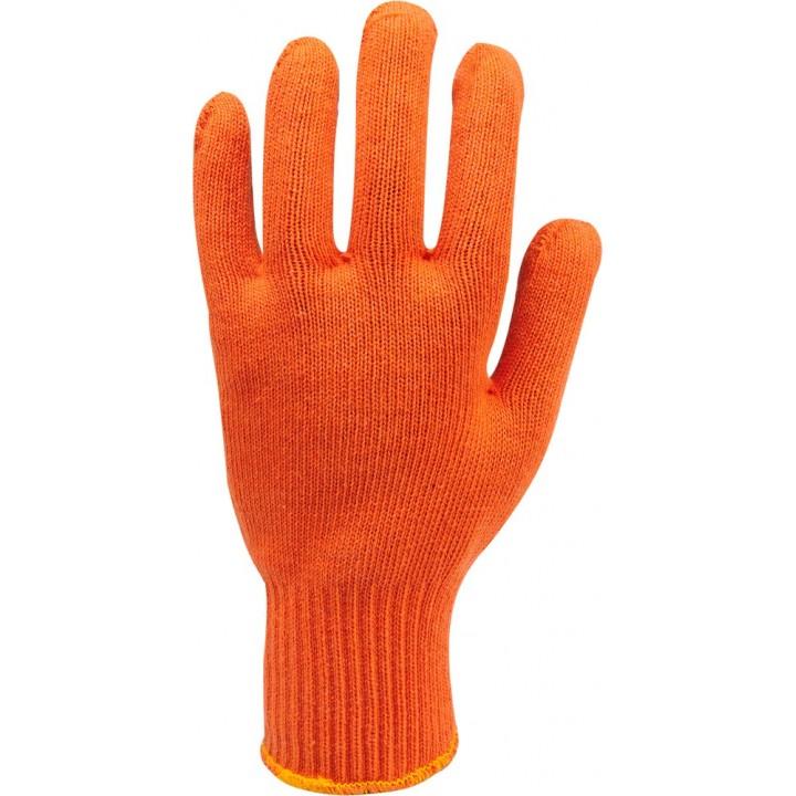 Рукавички х/б (помаранчеві)