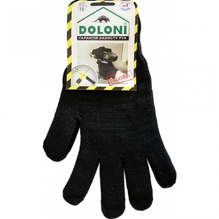 Рукавички х/б Doloni (великий розмір)