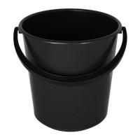 Відро пластмасове чорне (16л)