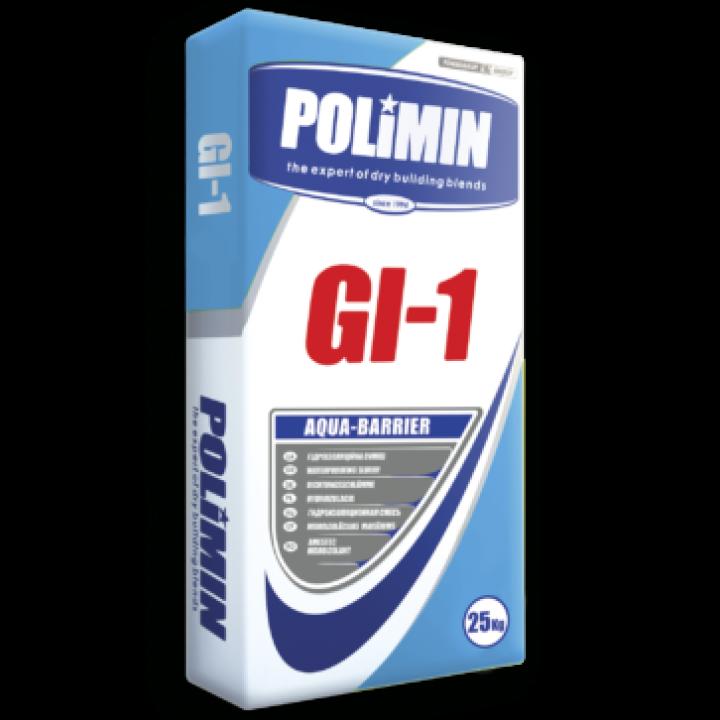 Гідроізоляційна суміш Полімін ГI-1 (25кг)