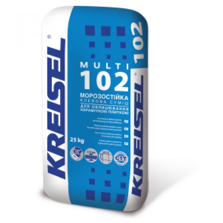Клей для плитки морозостійкий Kreisel (Крайзель) 102 (25 кг.)