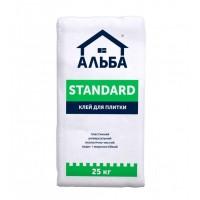 """Клей для плитки Альба """"Standart"""" (25 кг.)"""