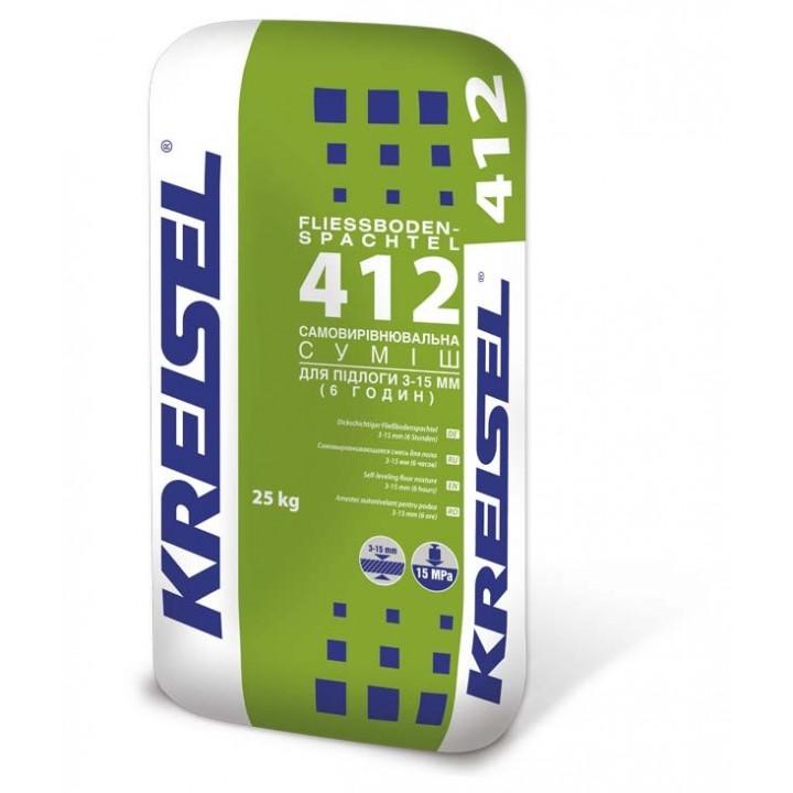 Самовирівнююча суміш Kreisel (Крайзель) 412 (3-15мм) (25 кг.)