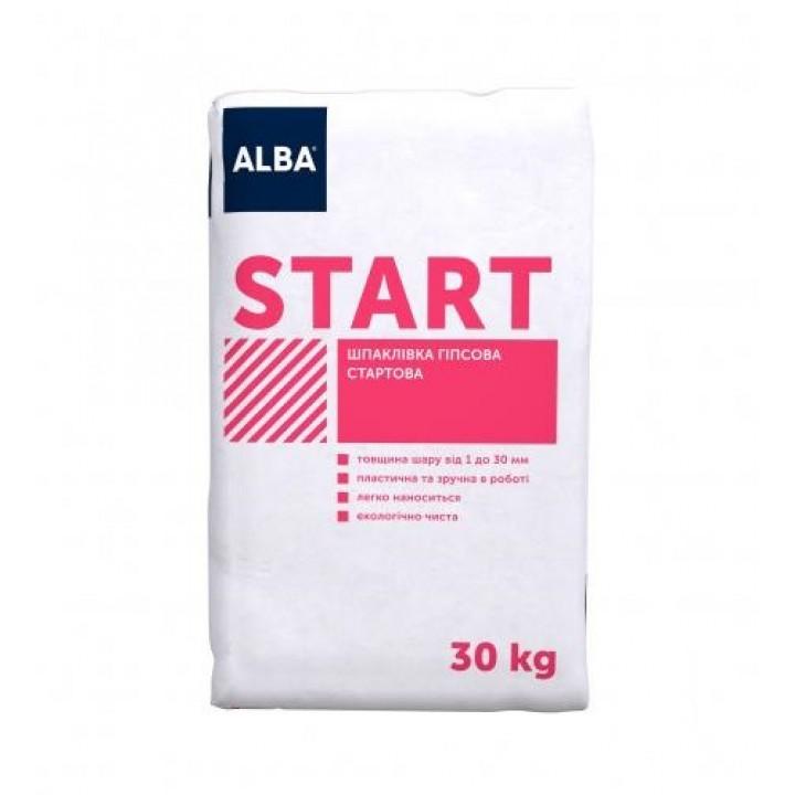 "Шпаклівка гіпсова Альба ""START"" (30 кг.)"
