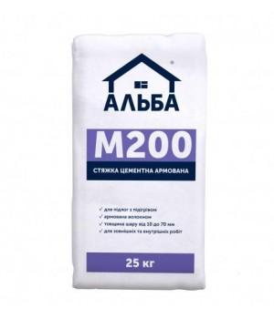 "Стяжка для підлоги цементна Альба ""М-200"" (25 кг.)"