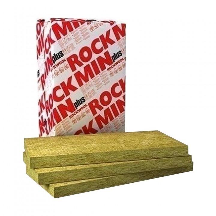 """Мінераловатна плита Rockwool """"Rockmin PLUS 30"""" 100мм (6,1м.кв.)"""